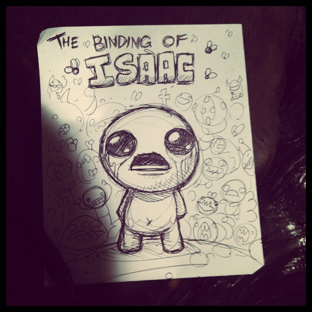 Cover for The Binding of Isaac's Soundtrack.