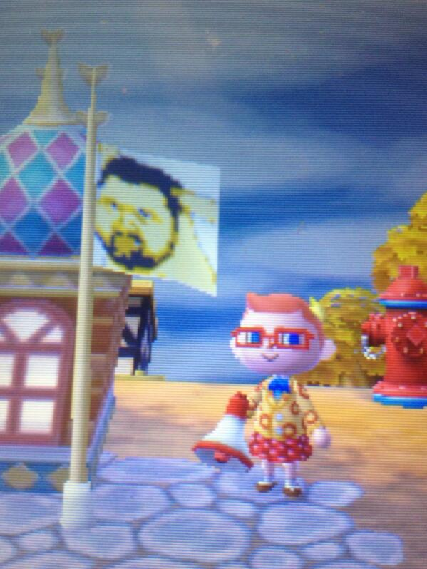 My mayor and her town flag.