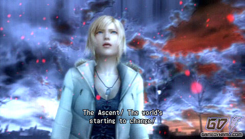 Ascent - where Aya Brea leaves the past and returns to her body in the present.