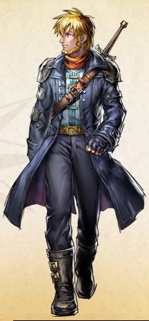 Isaac's new appearance in Golden Sun: Dark Dawn.