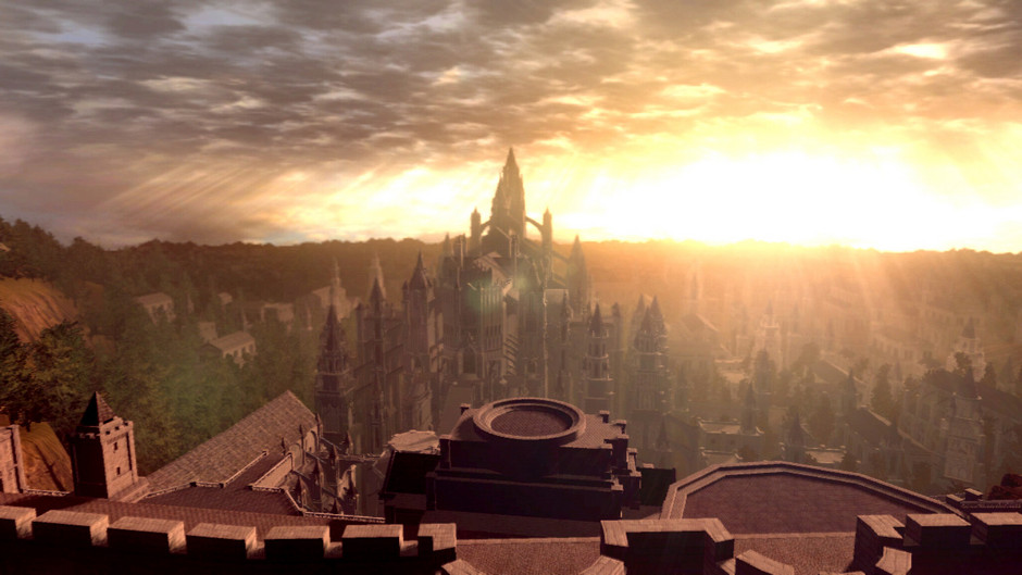 Anor Londo Eternal Sunset
