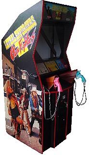 The original arcade cabinet
