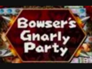 One of the 6 gameboards in Mario Party 4, Bowser's Gnarly Party.