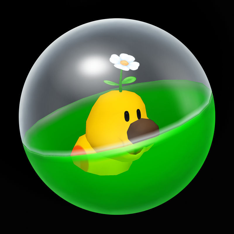 The Wiggler Capsule from Mario Party 5.