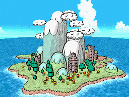 Yoshi's Island, a place where Yoshis come and play in harmony.