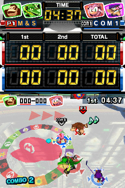 Fever Hockey from the DS version of Mario & Sonic at the Olympic Winter Games.