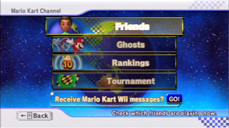 The Mario Kart Channel allows players to check their rankings, and more!