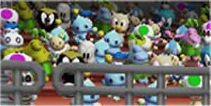 Chao are ready to cheer for your favorite player.