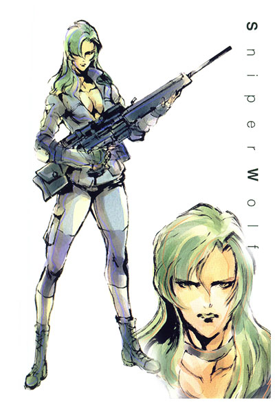 Sniper Wolf and her PSG1