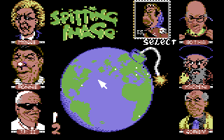 Character selection (C64)