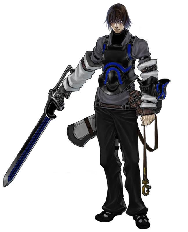 Caim, protagonist of Drakengard