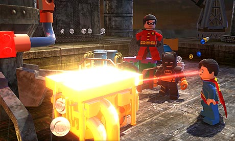 The suits of the original Lego Batman return, but their use will eventually be replaced by other Superheroes .