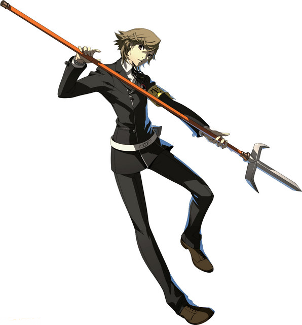 Persona 3 character Ken Amada as he appears in Persona 4 Arena Ultimax.