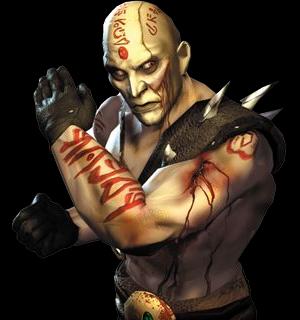 Quan Chi, looking decidedly un-Kratos-like.