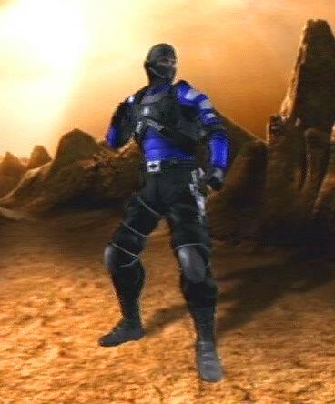 Stryker's alternate appearance in Mortal Kombat: Armageddon