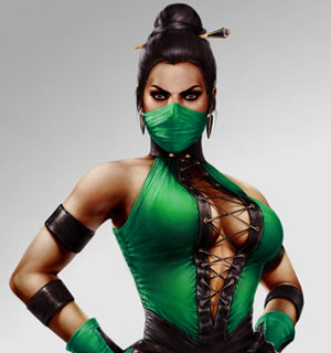 Jade's classic costume, based on her appearance in Ultimate Mortal Kombat 3