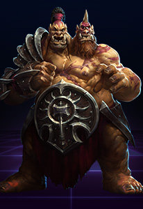 Cho'gall is unique as they is controlled by two separate players: one Tank and one Ranged Assassin.