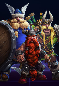 The Lost Vikings are unique as the game allows a single player to control three units separately.