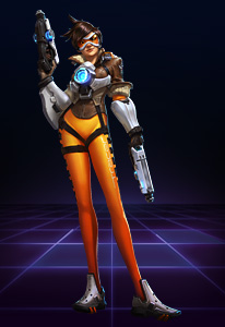 Without the need for Mana, Tracer is a powerful ranged foe who can easily teleport around.