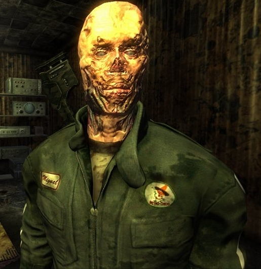 Raul, a ghoul from Fallout: New Vegas