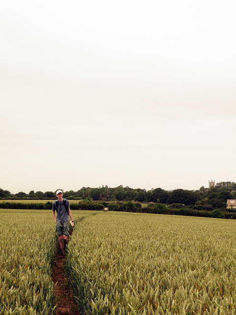 One of the most recent snaps of Magnuson on his GameTrekking trip, this time in England.