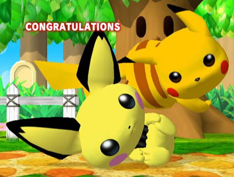 Pichu & Pikachu in Super Smash Bros. Melee