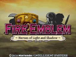 Fan translation's title screen