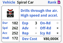 Spiral Car