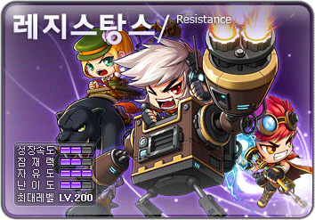 The KMS Version of The Resistance's Class Select Button