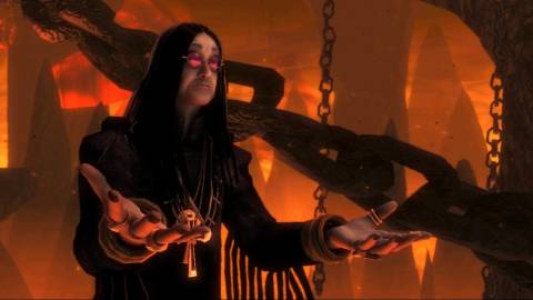 Ozzy Osbourne voices the Guardian of Metal.