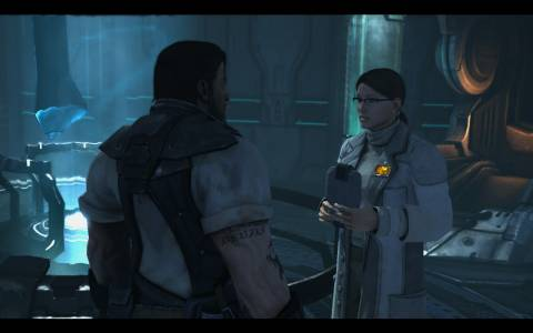 Ariel Hanson provides medical help to Raynor and his allies.
