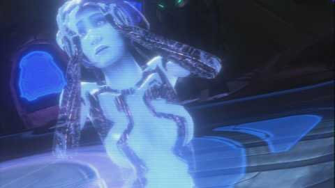 Cortana's message to the Chief