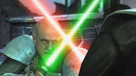 Kota duels with Starkiller