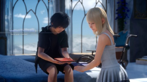 Lunafreya is an important character - she is also in the game for about 15 min