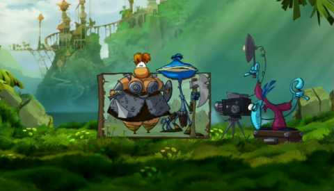 Rayman's as wacked out as ever, and this time, he doesn't even need Rabbids.