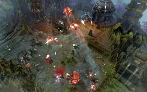 The battles in Dawn of War 2 are intense but confined
