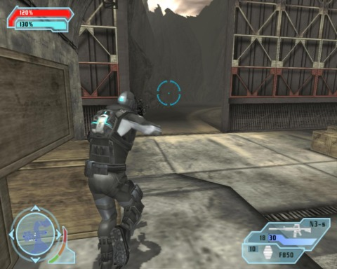 Meet Stealth Owl: He also shoots things, but does so while invisible.