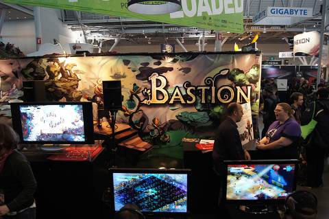The Bastion booth at PAX East 2011