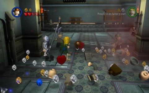 Intense Stud-collecting gameplay!