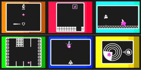 The original Sound Bomber games...
