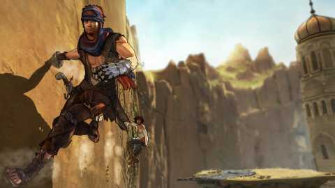 In tradition of the other Prince of Persia's, the game has great acrobatics.