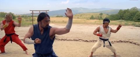 Street Fighter: Assassin's Fist - Gouken instructs Ryu and Ken in the ways of Ansatsuken