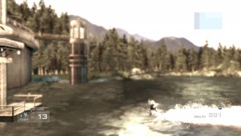 How about a waterskiing minigame?