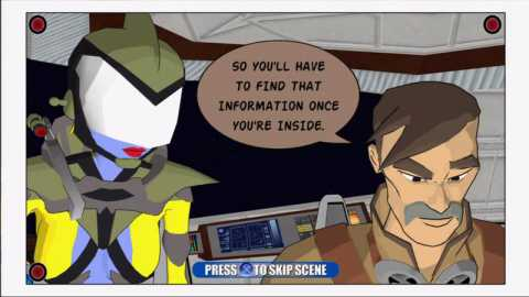 The story is told through comic-style panels.