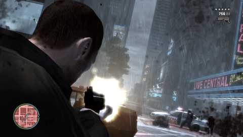 The over-the-shoulder aiming in GTA4 makes combat a bit easier to deal with.