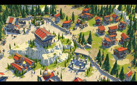 A Greek Capital City