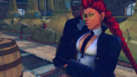 When C. Viper isn't yakking away on her phone she can be a formidable opponent.