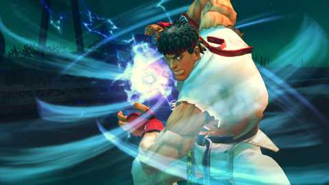 Ryu, readying his ultra.