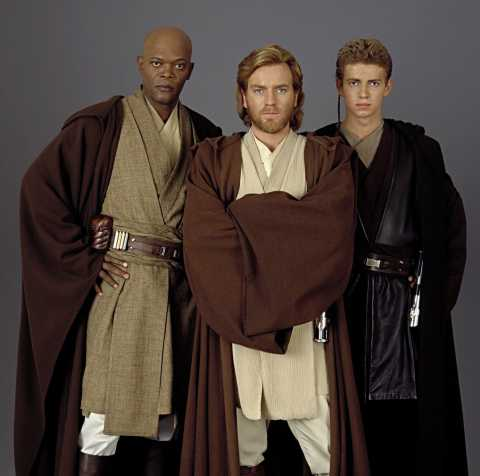 The three founders of BioWare: Dr. Greg Zeschuk, Dr. Ray Muzyka, and Dr. Anakin Skywalker