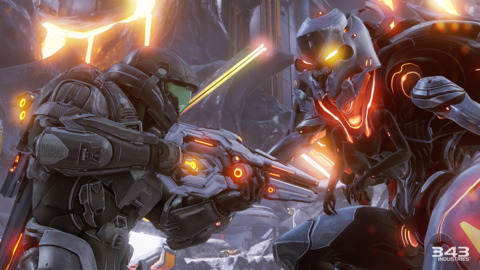 There aren't a ton of new enemies in Halo 5, but the encounters still feel fresh enough.